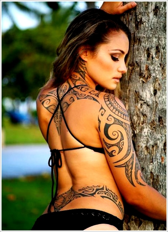 Unique Maori Tribal Tattoos