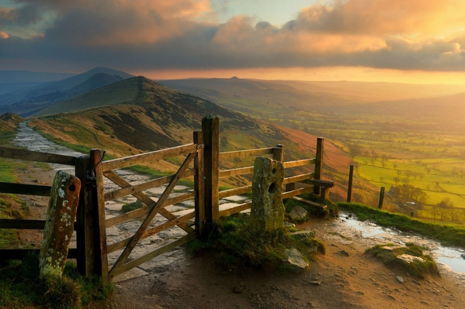 Mysterious National Park Peak District