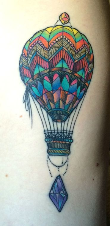 Hot Air Balloon by Katie Shocrylas in Vancouver, BC