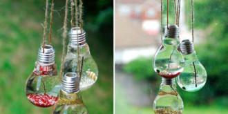 Reusing a Light bulb as an Work of Art
