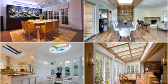 15 Stylish Dining Room Designs with Skylights