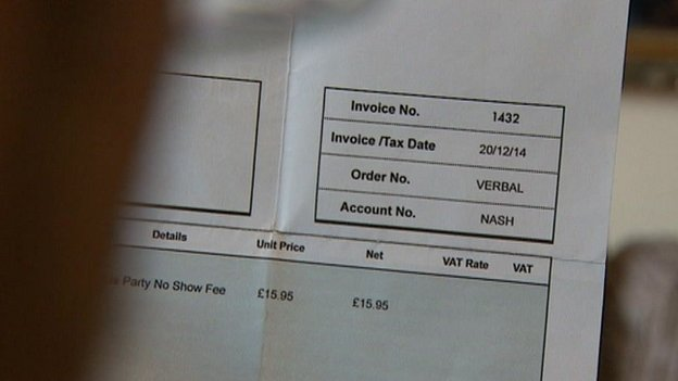 5-Year old boy who missed party is sent £16 party no-show invoice