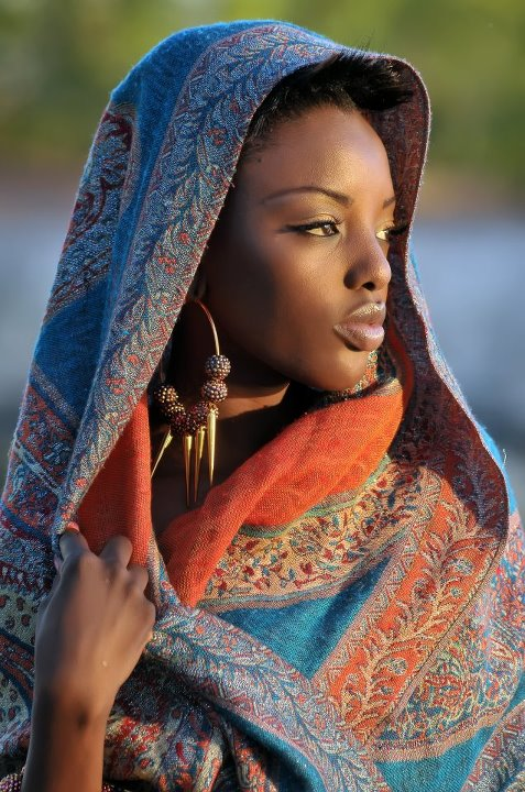 A Beautiful Portrait of an African Lady