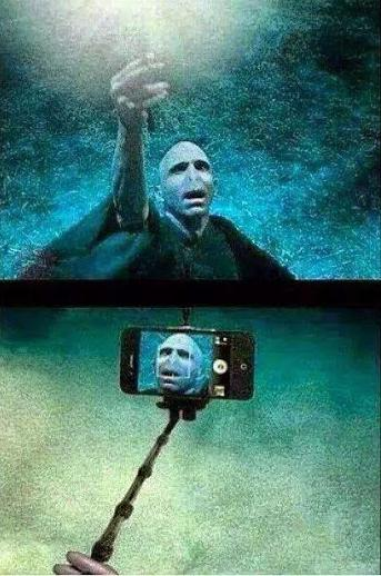 But first, let me take a selfie