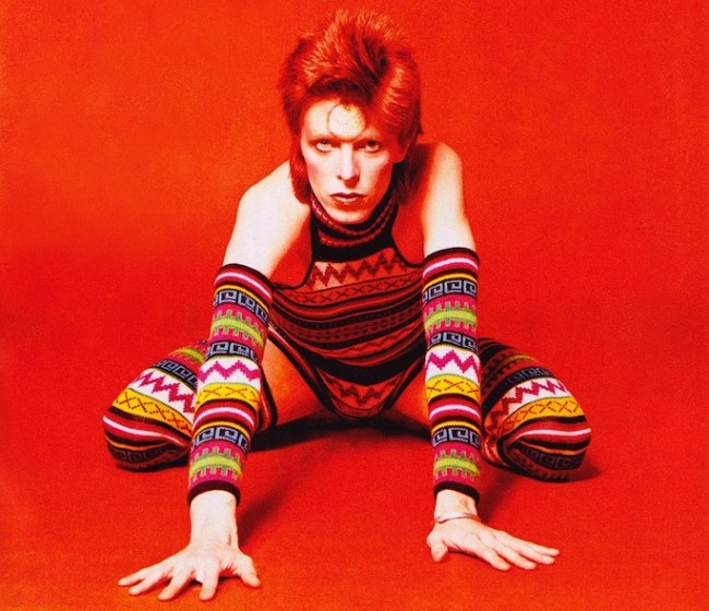 David Bowie kept a fur-covered pit in his living room for orgies.