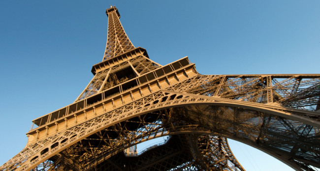 Eiffel Tower's height can vary with the outside temperature by almost 6 inches.