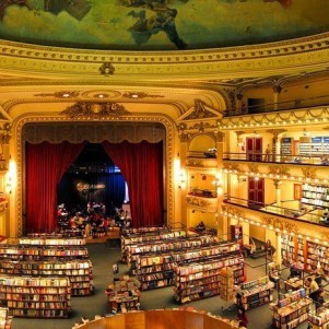 The most beautiful bookshop