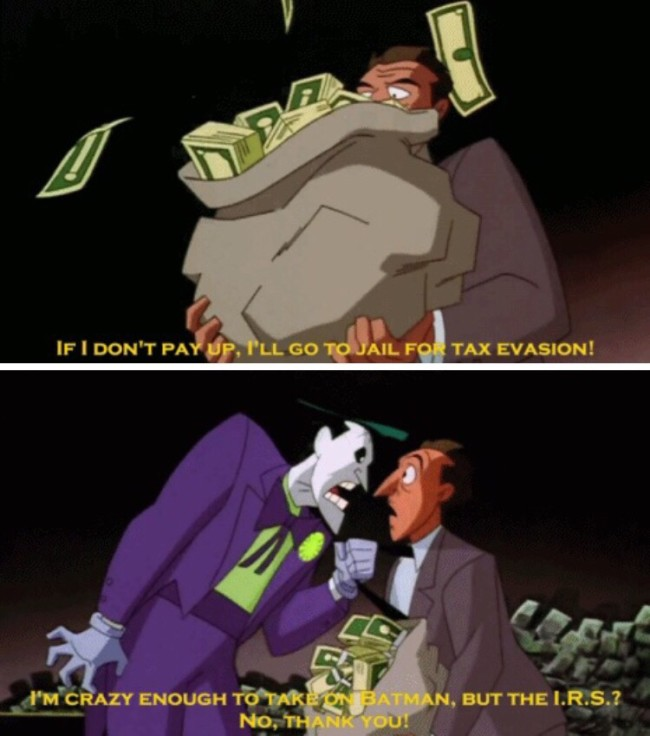 Even The Joker's insanity has limits...