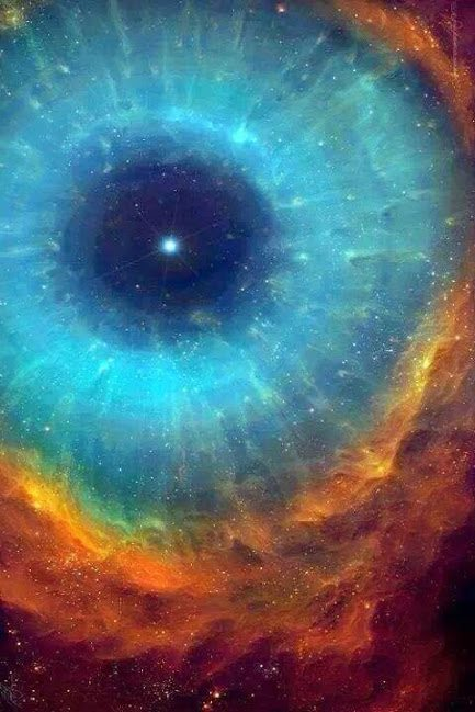 Eye of the Cosmos taken from the Hubble Telescope.