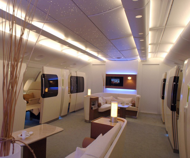 First Class on the Qantas Airbus [640x533]