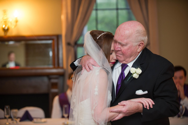 Grandfather-granddaughter dance at my wedding instead of a father-daughter dance