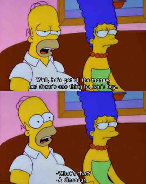 Homer may be an idiot, but his logic is unquestionable