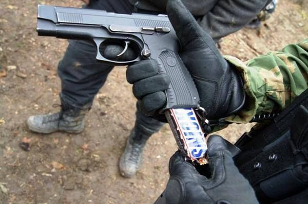 How to sneak choclate into American movie theatres.