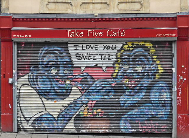 I Love You Sweetie - Stokes Croft, Bristol, UK