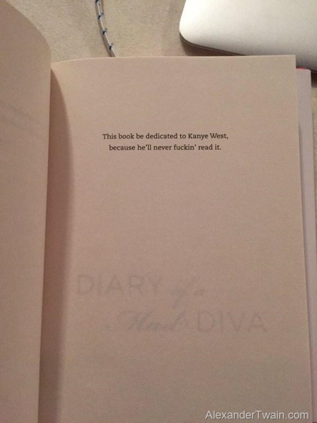 Joan Rivers dedicates her book to someone special