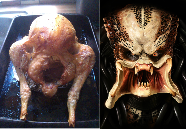 My Roast chicken came out looking like predator