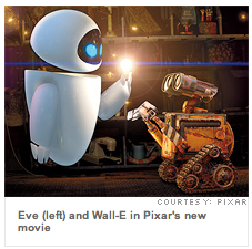 The person who designed Eve from Wall-E also helped design the iPhone