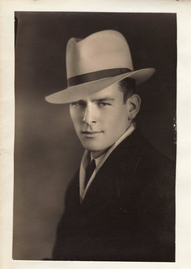 This is a pic of my grandfather. I don't think flapper grandma would have been much of a challenge for him.