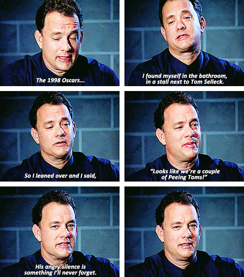 Tom Hanks Tries To Be Funny