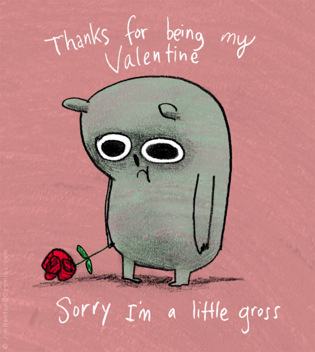 Valentine's Day is coming. Sometimes it's hard to find a card that says just what you feel.