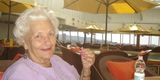 86 year old living in a cruise for life after retirement