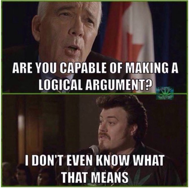 When I'm arguing with an anti-vaxxer.