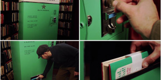 Book Vending Machine: Try your luck