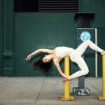Yoga on the streets by Anja Humljan