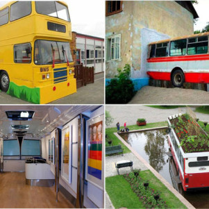 10 Amazing ways to give Buses a Second Life