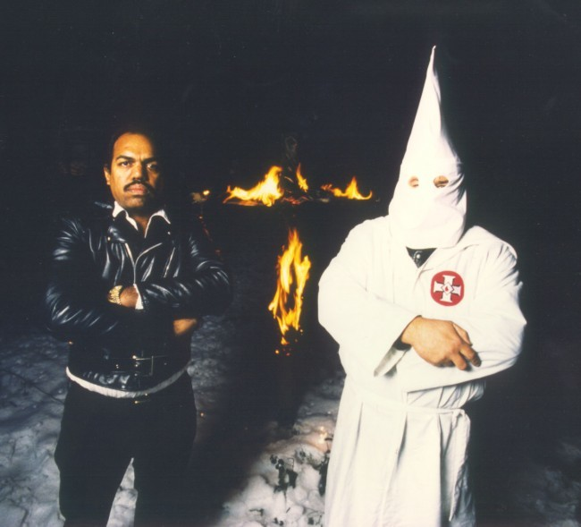 that Daryl Davis, a black musician, is credited with dismantling the entire KKK network in Maryland