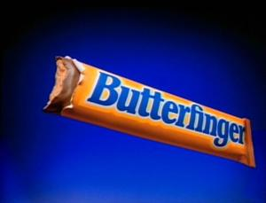 that the Simpsons were doing Butterfinger commercials a year before the show started, and that Milhouse originated in the second commercial.