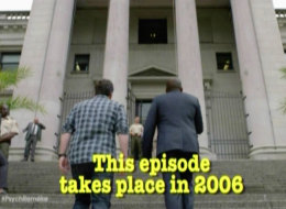 that the TV series Psych once made a remake of there own episode from 2006