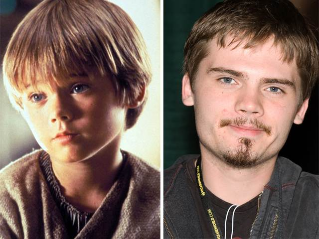 the actor who played Young Anakin Skywalker, Jake Lloyd