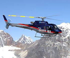 A helicopter pilot landed on the summit of Everest then did it again the next day to prove it wasn't a fluke