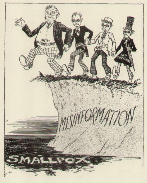 History repeats itself. Anti-vac comic from the 1940s.