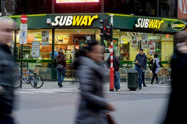 Subway has more locations than Taco Bell, KFC and Pizza Hut combined
