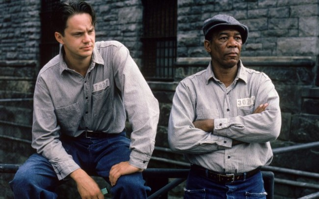 in the book Shawshank Redemption, Red, the character later played by Morgan Freeman, was a red-haired Irishma