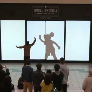 Shoppers Get a Disney Surprise