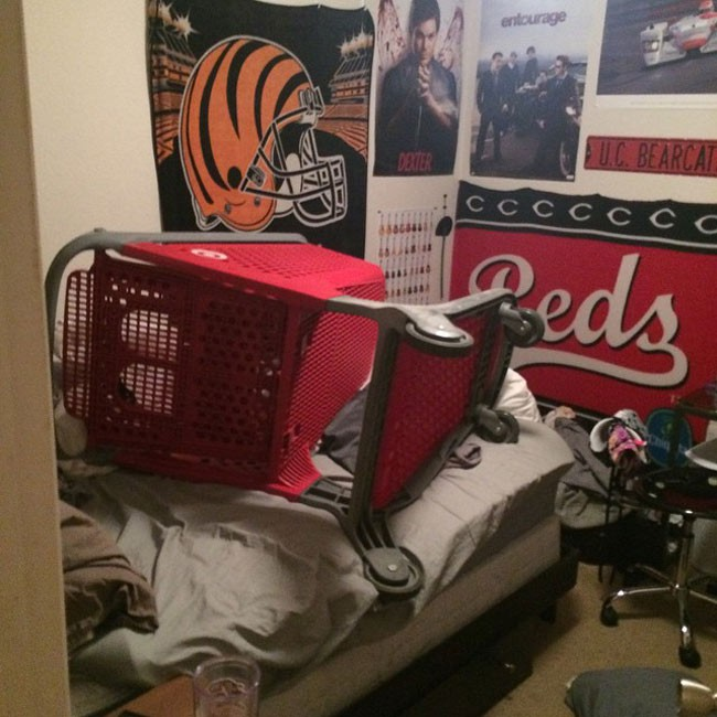 Shopping Cart Bedroom