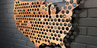 Map Your Beer with Beer Cap Maps