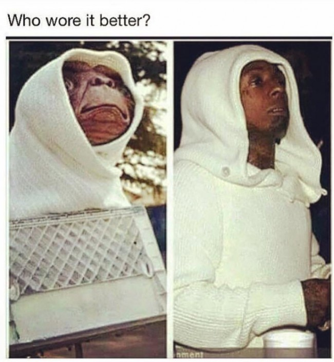 Who wore it better....