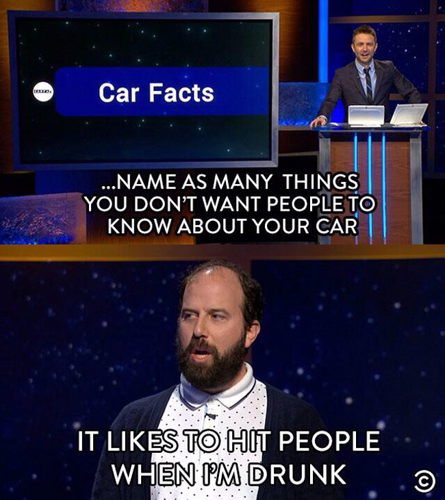 Not all car facts are fun.