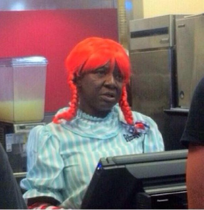 Welcome to Wendy's, the f**k you want?