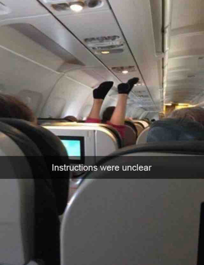 So much more leg room these days…