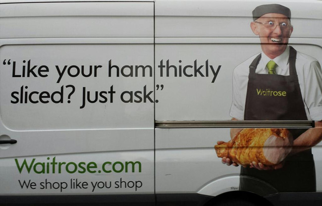 Like your ham thickly sliced?