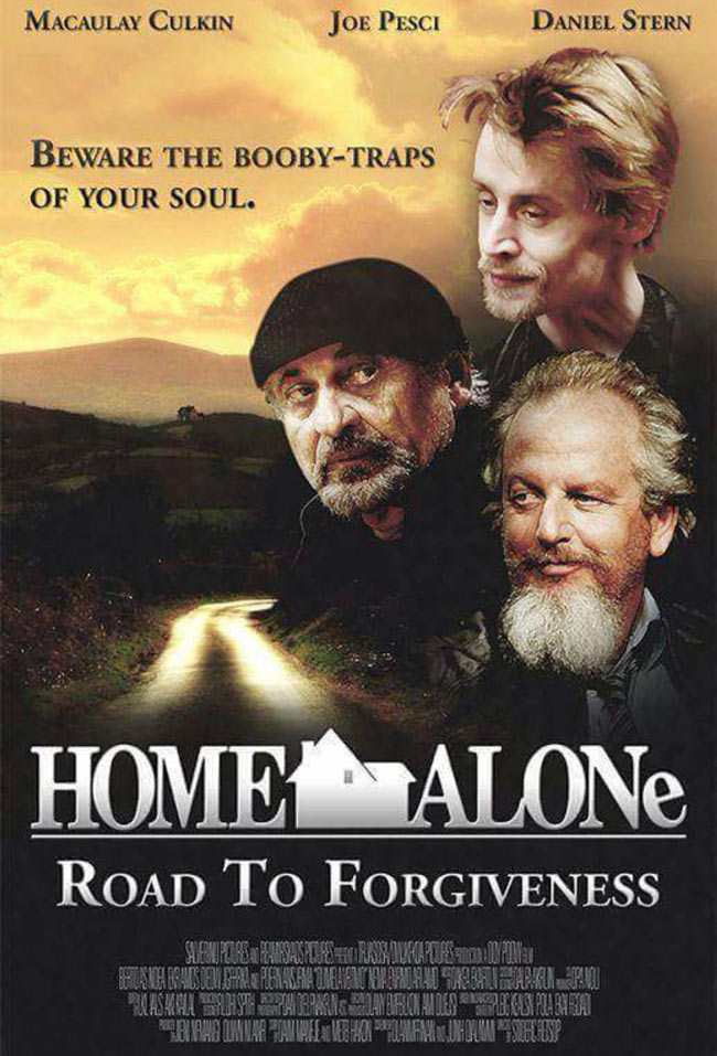 Home Alone Road to forgiveness