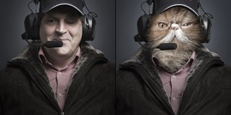 Undercats: Cats Merged With Their Owners
