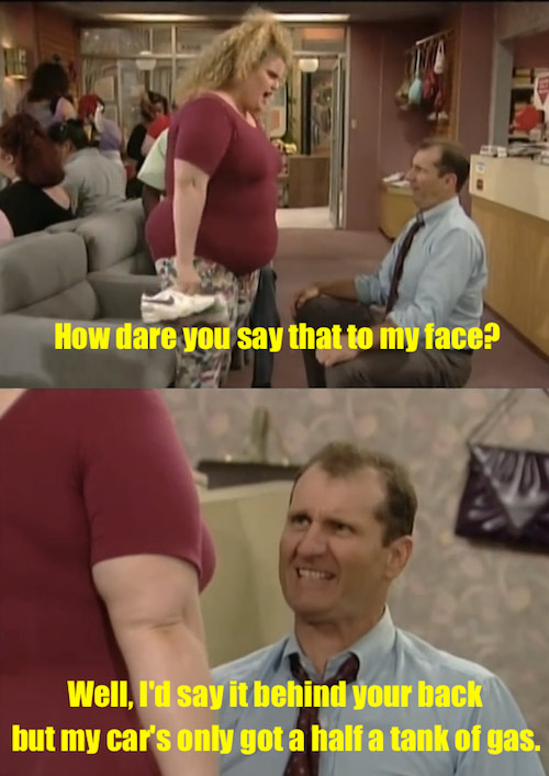 Married With Children would get cancelled after a few episodes in today's society.