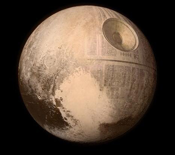 Here's the real image of Pluto that NASA didn't want you to see