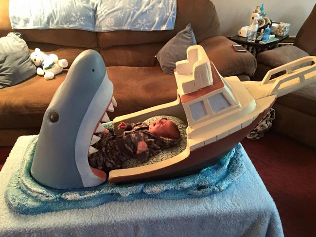 We're gonna need a bigger crib